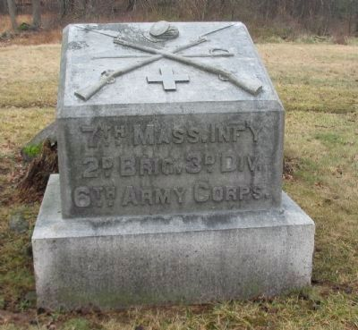 7th Massachusetts Infantry Monument image. Click for full size.