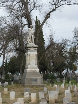 The Ruel C. Gridley Monument image. Click for full size.