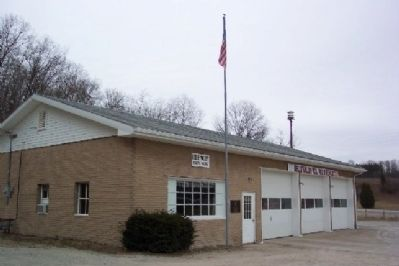 Belle Valley VFD and Marker image. Click for full size.