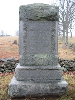 1st West Virginia Cavalry Monument image. Click for full size.