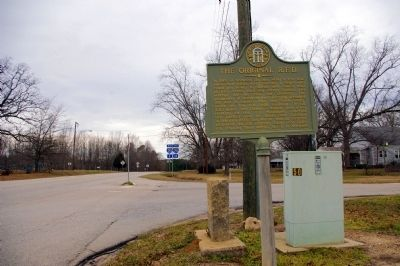 The Original R.F.D. Marker, looking west on U.S. 278 image. Click for full size.