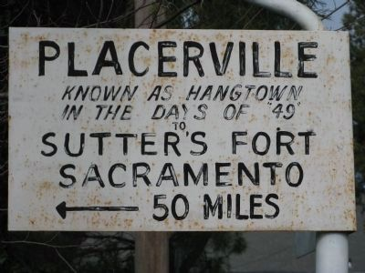 Placerville to Sutters Fort-Sacramento image. Click for full size.