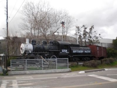Southern Pacific Steam Locomotive 1258 image. Click for full size.