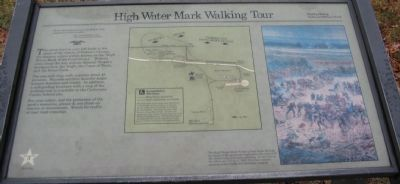High Water Mark Walking Tour Marker image. Click for full size.