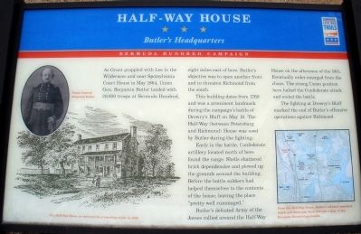 Half-Way House Marker image. Click for full size.