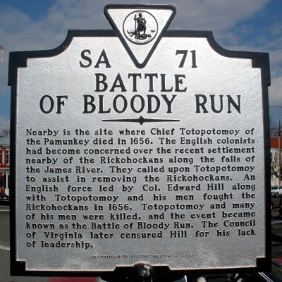 Battle of Bloody Run Marker image. Click for full size.
