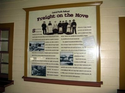 Freight on the Move Marker image. Click for full size.