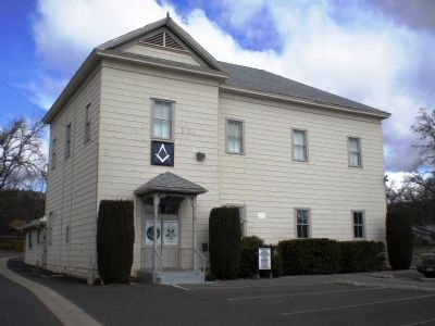Masonic Hall in Murphys image. Click for full size.