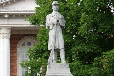 Richland and Pulaski Civil War Soldiers Monument image. Click for full size.