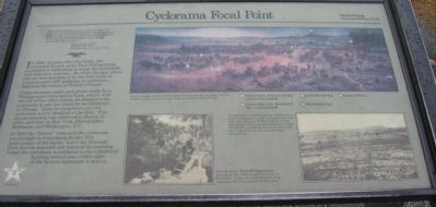 Cyclorama Focal Point Marker image. Click for full size.