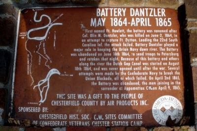 Battery Dantzler SCV Marker image. Click for full size.