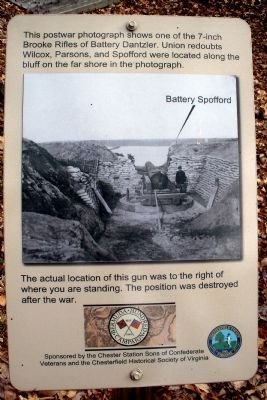 7-inch Brooke Rifle marker image. Click for full size.