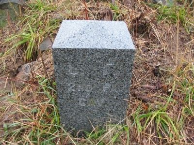Left Flank Marker Stone image. Click for full size.