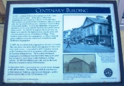 Centenary Building Marker image. Click for full size.