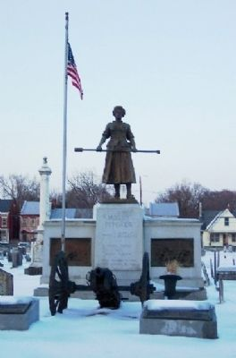 Molly Pitcher Gravesite image. Click for full size.