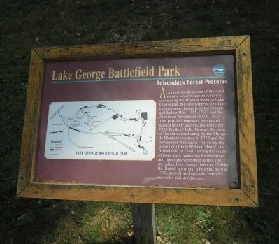 Adirondack Forest Preserve Marker image. Click for full size.