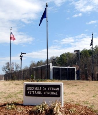 Greenville County Vietnam Veterans Memorial image. Click for full size.