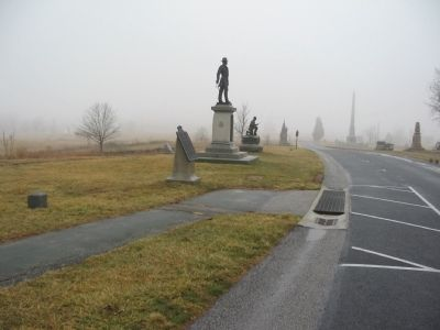 Major General Alexander Webb Monument image. Click for full size.