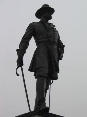 Statue of General Webb image. Click for full size.
