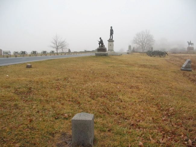 Left Flank of 1st Pennsylvania Cavalry image. Click for full size.