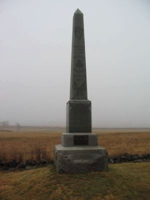 69th Regiment Pennsylvania Volunteers Monument image. Click for full size.