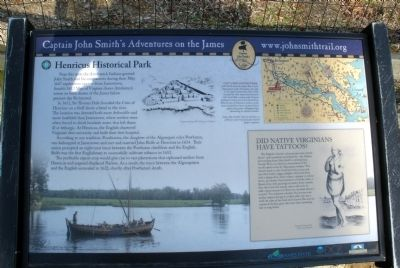 Henricus Historical Park Marker image. Click for full size.