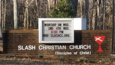 Slash Church today. image. Click for full size.