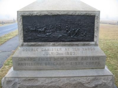 First New York Battery Monument image. Click for full size.