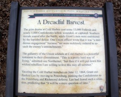 A Dreadful Harvest Marker image. Click for full size.