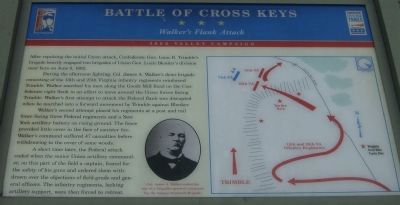 Battle of Cross Keys Marker image. Click for full size.
