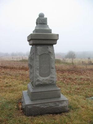 Battery B, 1st Rhode Island Artillery Monument image. Click for full size.