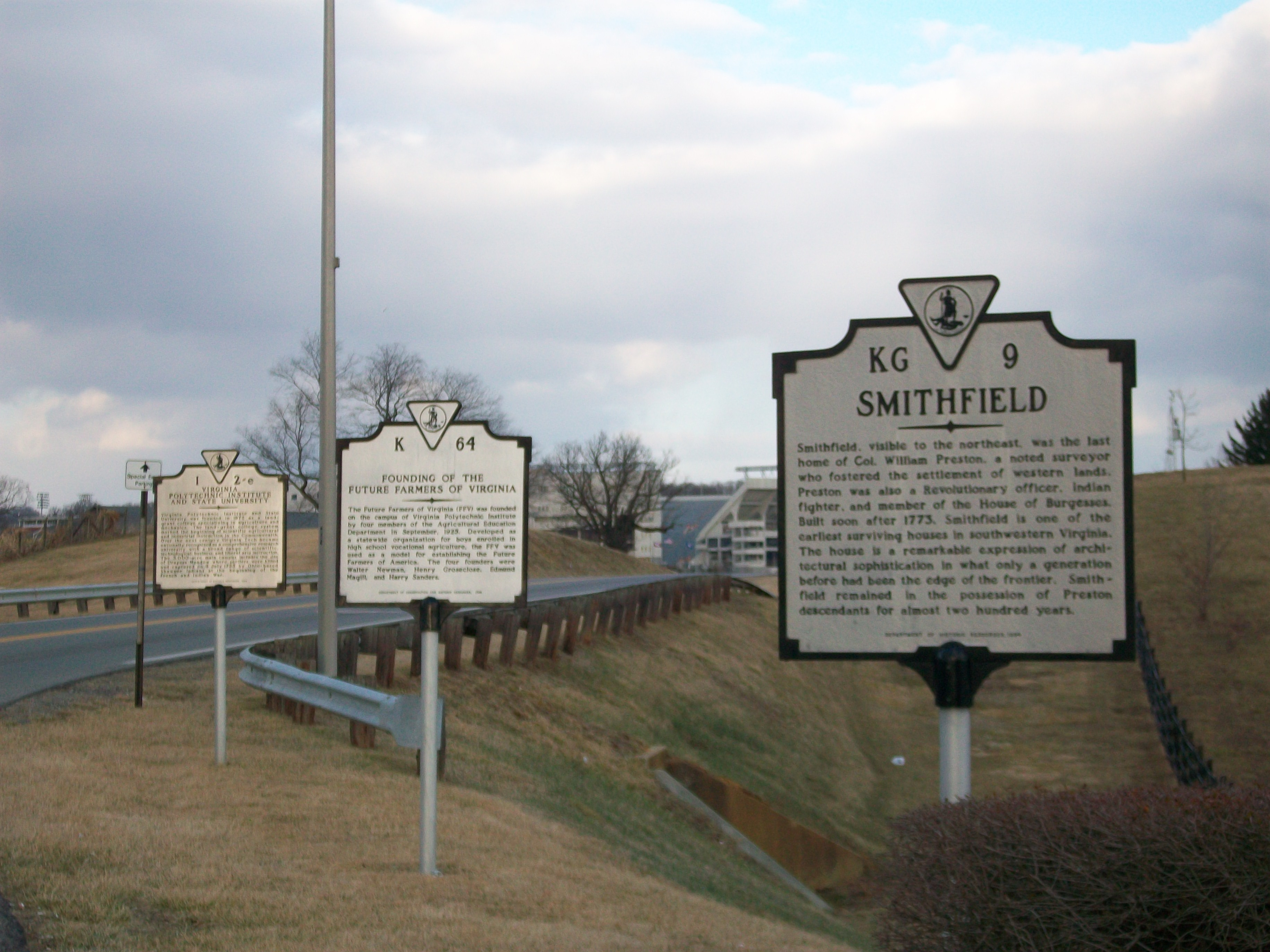 Founding of the Future Farmers of Virginia Marker