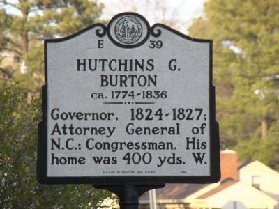 Hutchins G. Burton Marker image. Click for full size.