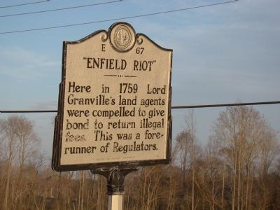 """Enfield Riot"" Marker image. Click for full size."