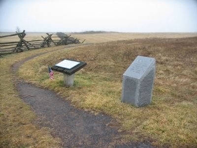 13th Vermont and Union Counterthrust Markers image. Click for full size.