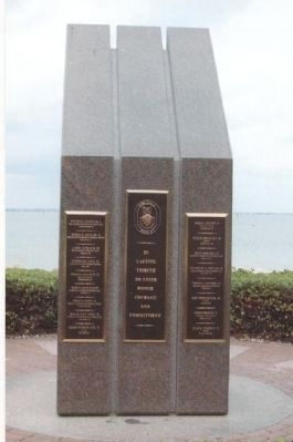 USS Cole Memorial image. Click for full size.