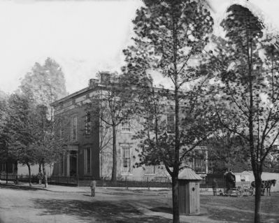Richmond, Va. Residence of Alexander H. Stephens, Vice President, C.S.A. image. Click for full size.