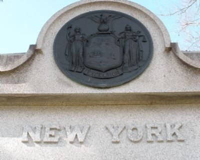 Eighth N. Y. Heavy Artillery Monument. image. Click for full size.