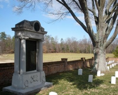 Eighth N. Y. Heavy Artillery Monument at Cold Harbor National Cemetery. image. Click for full size.