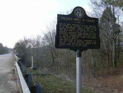 Field's Mill & Ferry Marker Area View image. Click for full size.