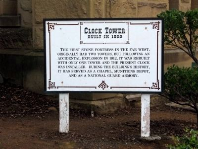 Clock Tower Marker image. Click for full size.