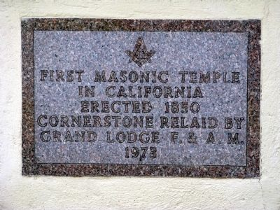 Cornerstone Plaque image. Click for full size.