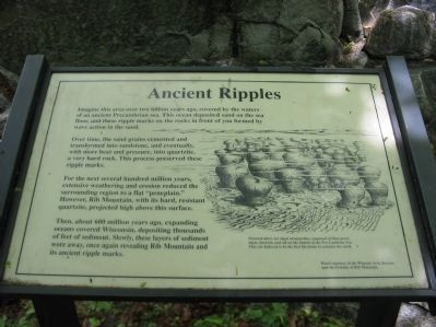 Ancient Ripples Marker image. Click for full size.