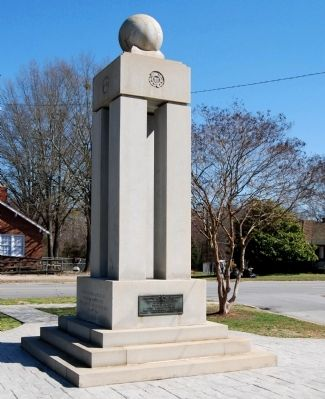 Mathews Mill Veterans Monument image. Click for full size.