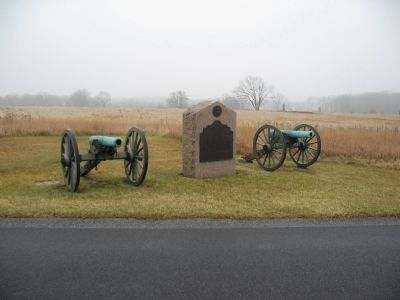 Battery C, Fifth U.S. Artillery Tablet image. Click for full size.