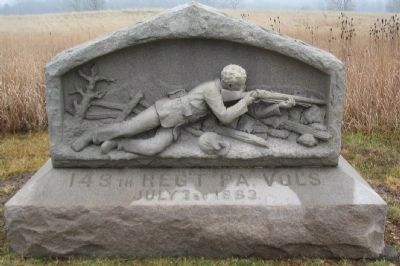 149th Regiment Pennsylvania Volunteers Monument image. Click for full size.