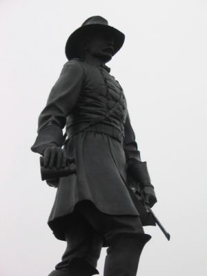 Brigadier General John Gibbon Statue image. Click for full size.