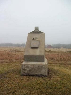 19th Regiment Massachusetts Infantry Monument image. Click for full size.