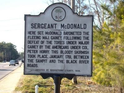 Sergeant McDonald Marker image. Click for full size.