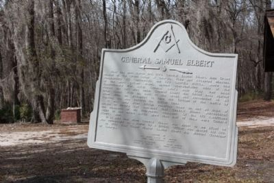 General Samuel Elbert Marker has a paint over in 2009 image. Click for full size.